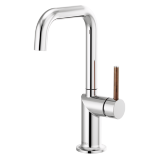 Bar Faucet With Square Spout - Less Handle