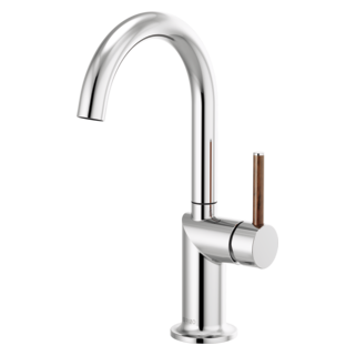 Bar Faucet With Arc Spout - Less Handle