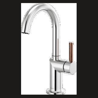 Bar Faucet With Arc Spout - Less Handle