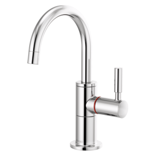 Instant Hot Faucet With Arc Spout