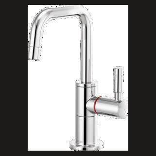 Instant Hot Faucet With Square Spout