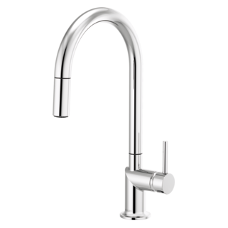 Pull-down Faucet With Arc Spout - Less Handle