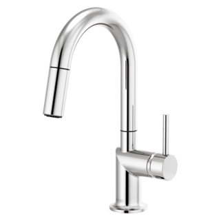Pull-down Prep Faucet With Arc Spout - Less Handle
