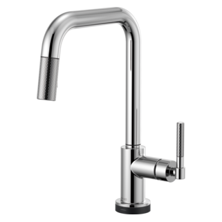 Smarttouch<sup>&reg;</sup> Pull-down Faucet With Square Spout And Knurled Handle