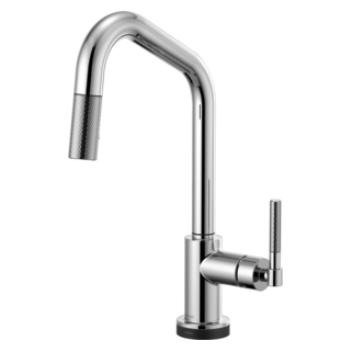 Smarttouch<sup>&reg;</sup> Pull-down Faucet With Angled Spout And Knurled Handle