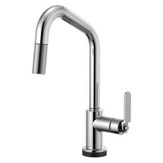 Smarttouch<sup>&reg;</sup> Pull-down Faucet With Angled Spout And Industrial Handle