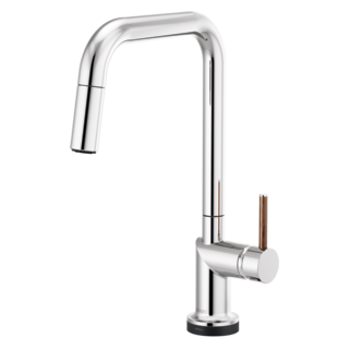 Smarttouch<sup>&reg;</sup> Pull-down Faucet With Square Spout - Less Handle