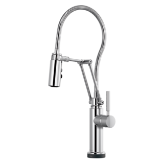 Smarttouch<sup>&reg;</sup> Articulating Faucet With Finished Hose