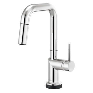 Smarttouch<sup>&reg;</sup> Pull-down Prep Faucet With Square Spout - Less Handle