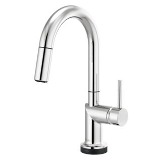 Smarttouch<sup>&reg;</sup> Pull-down Prep Faucet With Arc Spout - Less Handle