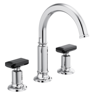 Widespread Lavatory Faucet With Arc Spout - Less Handles