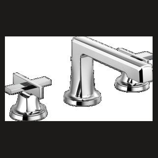 Widespread Lavatory Faucet With Low Spout - Less Handles