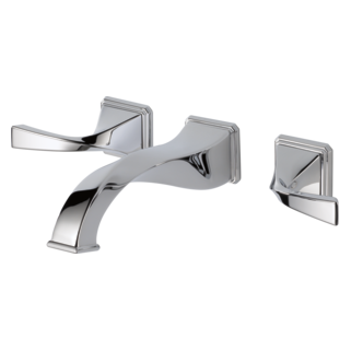Two Handle Wall-mount Lavatory Faucet