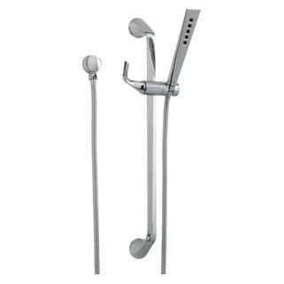 Slide Bar Handshower With H<sub>2</sub>okinetic<sup>&reg;</sup> Technology