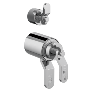 Tempassure<sup>&reg;</sup> Thermostatic Valve With Diverter Trim Handle Kit - Industrial Lever