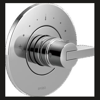 Sensori<sup>&reg;</sup> Thermostatic Valve Trim - Less Handle