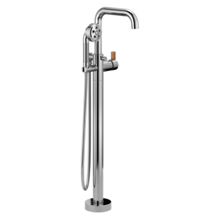 Single-handle Freestanding Tub Filler - Less Handle