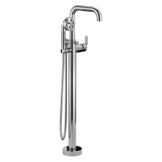 Single-handle Freestanding Tub Filler - Less Handle