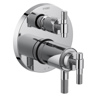 Tempassure<sup>&reg;</sup> Thermostatic Valve With 3-function Diverter Trim - Less Handles