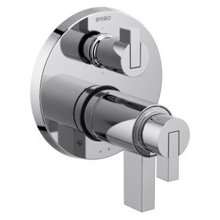 Tempassure<sup>&reg;</sup> Thermostatic Valve With 6-function Diverter Trim - Less Handles