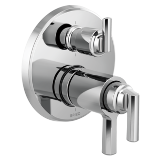 Tempassure<sup>&reg;</sup> Thermostatic Valve With Integrated 6-function Diverter Trim
