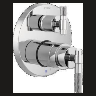 Pressure Balance Valve With Integrated 3-function Diverter Trim - Less Handles