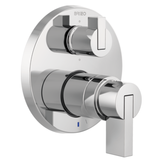 Pressure Balance Valve With Integrated 6-function Diverter Trim - Less Handles