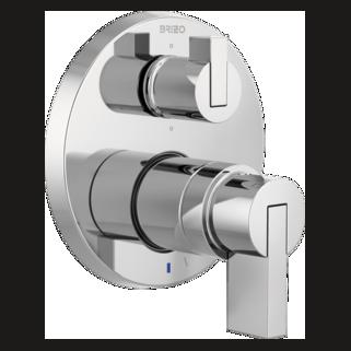 Pressure Balance Valve With Integrated 6-function Diverter Trim - Less Handles