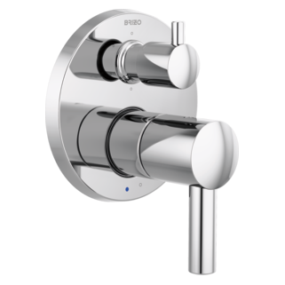Pressure Balance Valve With Integrated 6-function Diverter Trim